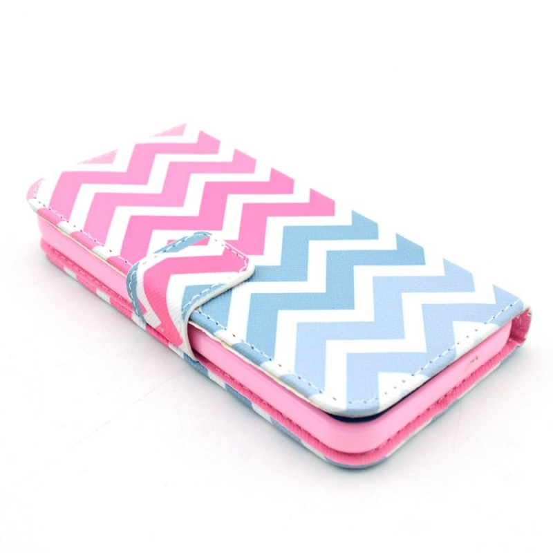 Housse iphone 5c zig zags for Housse iphone 5c