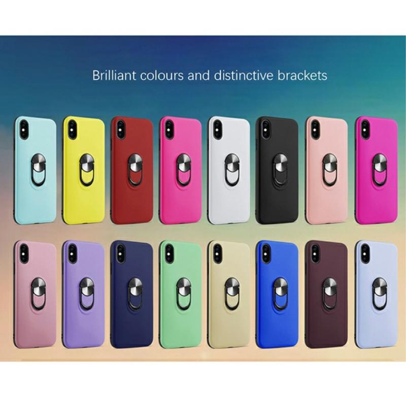coque iphone x detachable avec anneau support