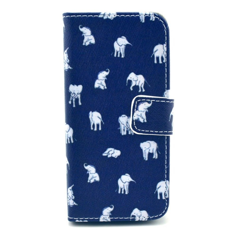 Housse iphone 5c multiples l phants for Housse iphone 5c