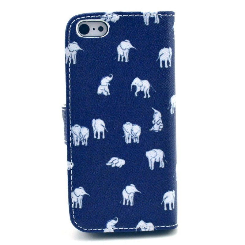 Housse iphone 5c multiples l phants for Housse iphone 5 c