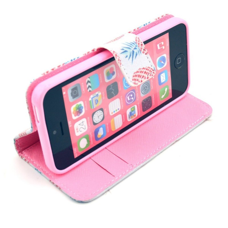 Housse iphone 5c multiples ananas for Housse iphone 5 c