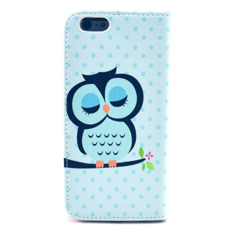 Housse iphone 6 hibou endormi for Housse iphone 6