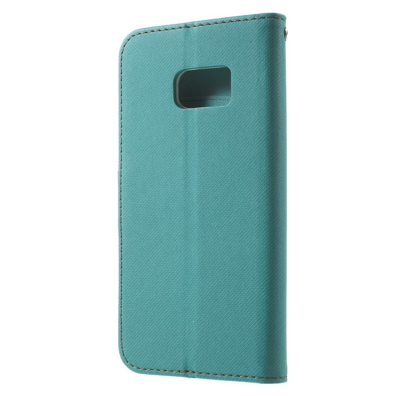 Housse samsung galaxy s7 bicolore flip for Housse samsung galaxy s
