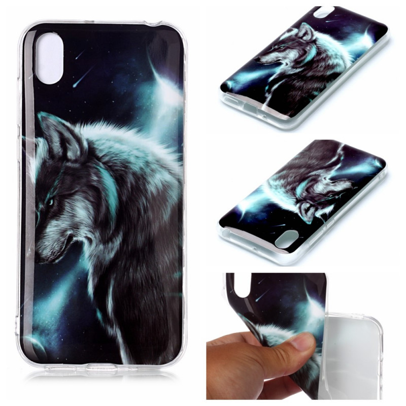 Coque Huawei Y5 2019 / Honor 8S Loup Royal