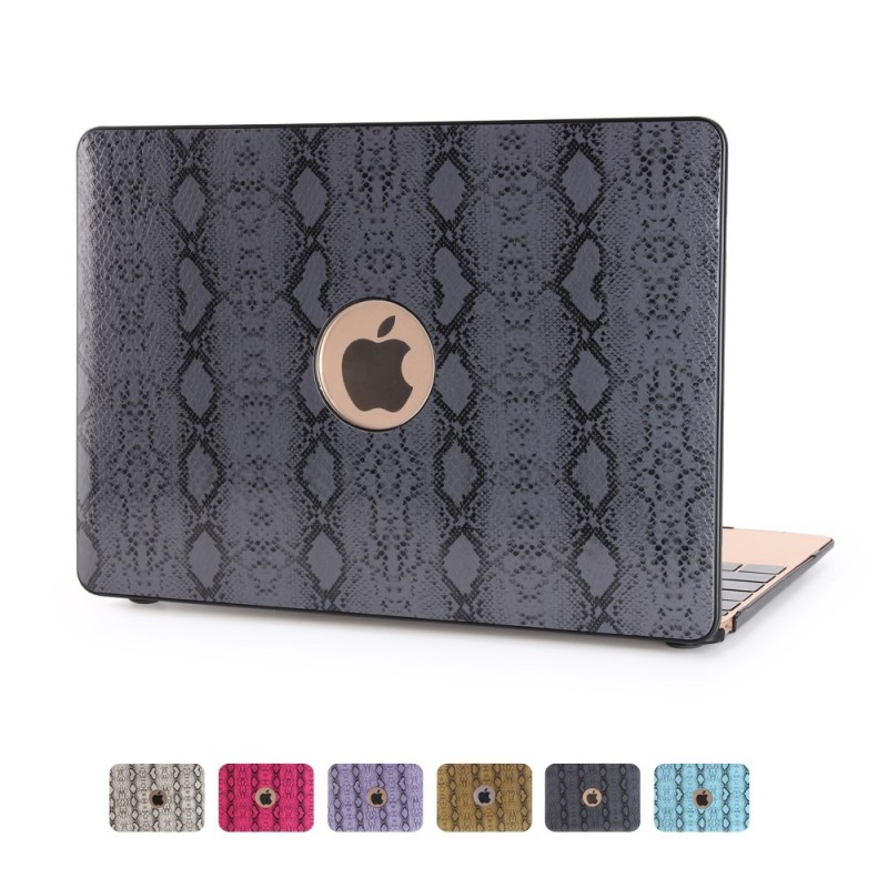coque macbook air 13 pouces effet peau de serpent. Black Bedroom Furniture Sets. Home Design Ideas