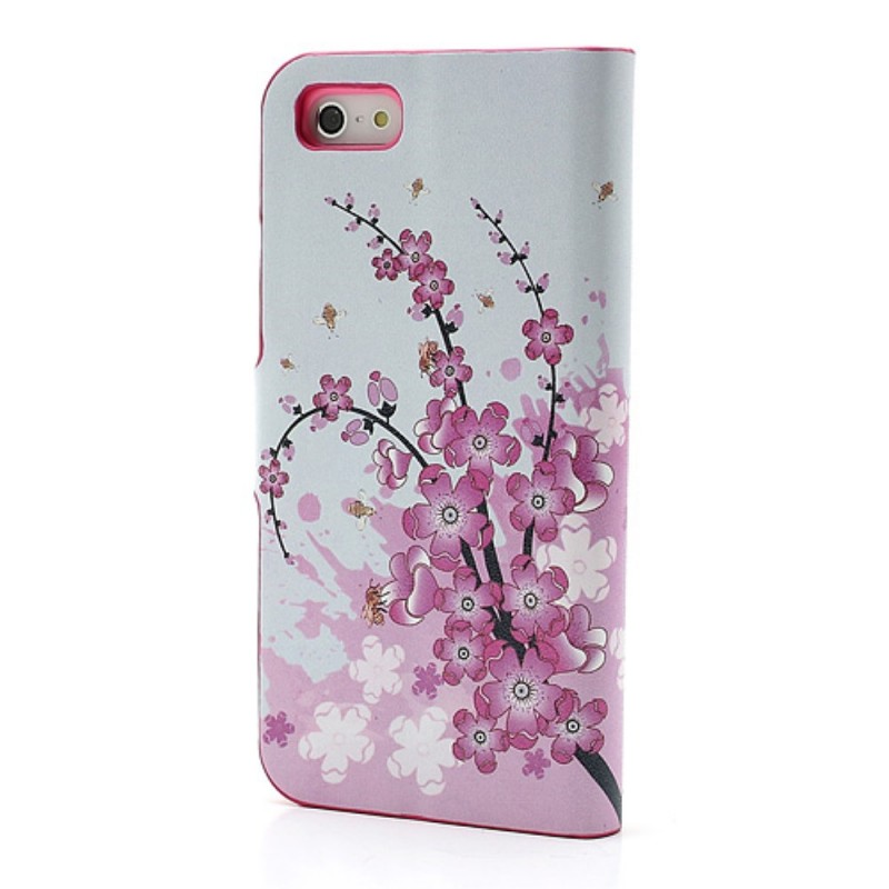 Housse iphone se 5 5s tropical flowers for Housse iphone 5s