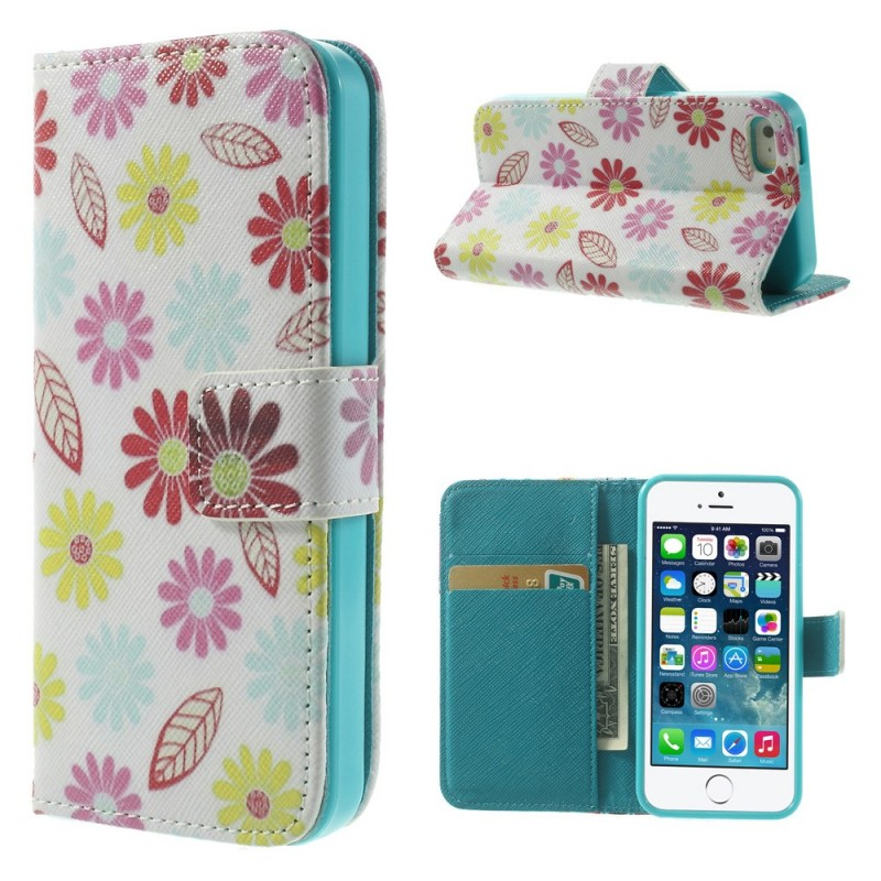 Housse iphone se 5 5s printemps floral for Housse iphone 5s