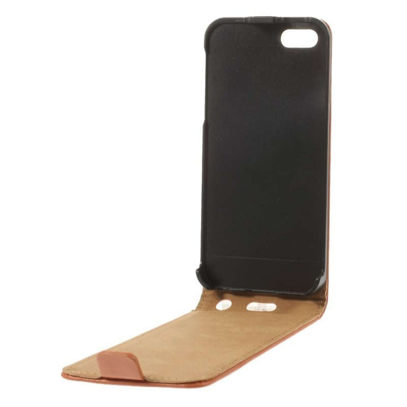 Housse iphone se 5 5s rabattable for Housse iphone 5s