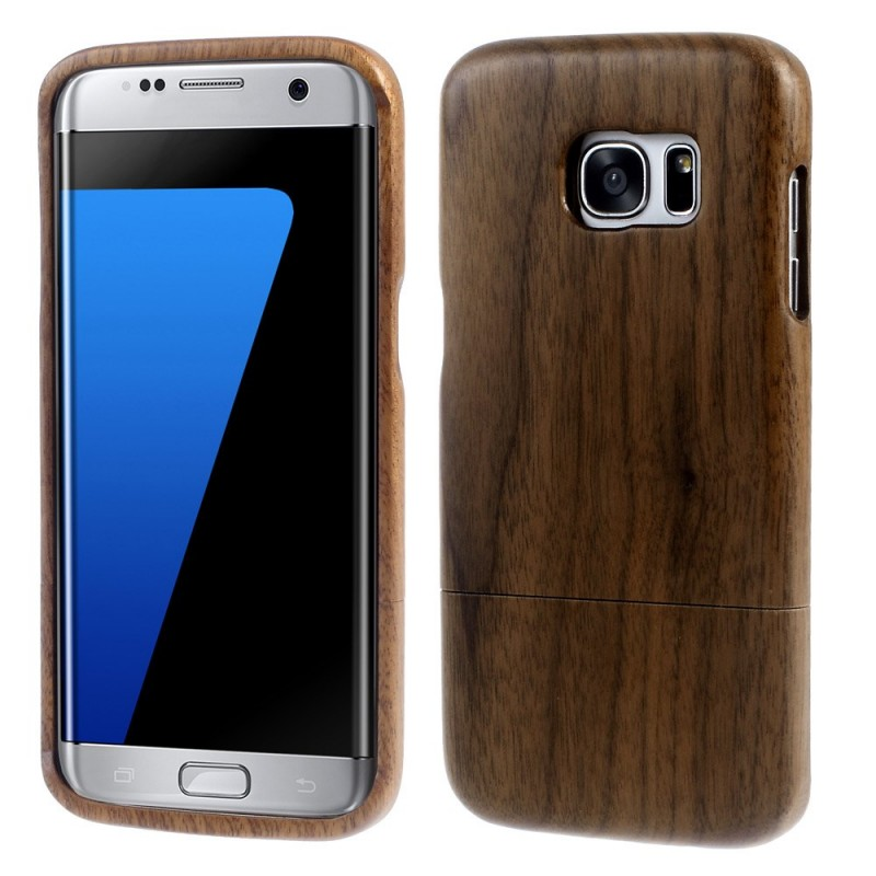 coque samsung galaxy s7 edge bois naturel. Black Bedroom Furniture Sets. Home Design Ideas