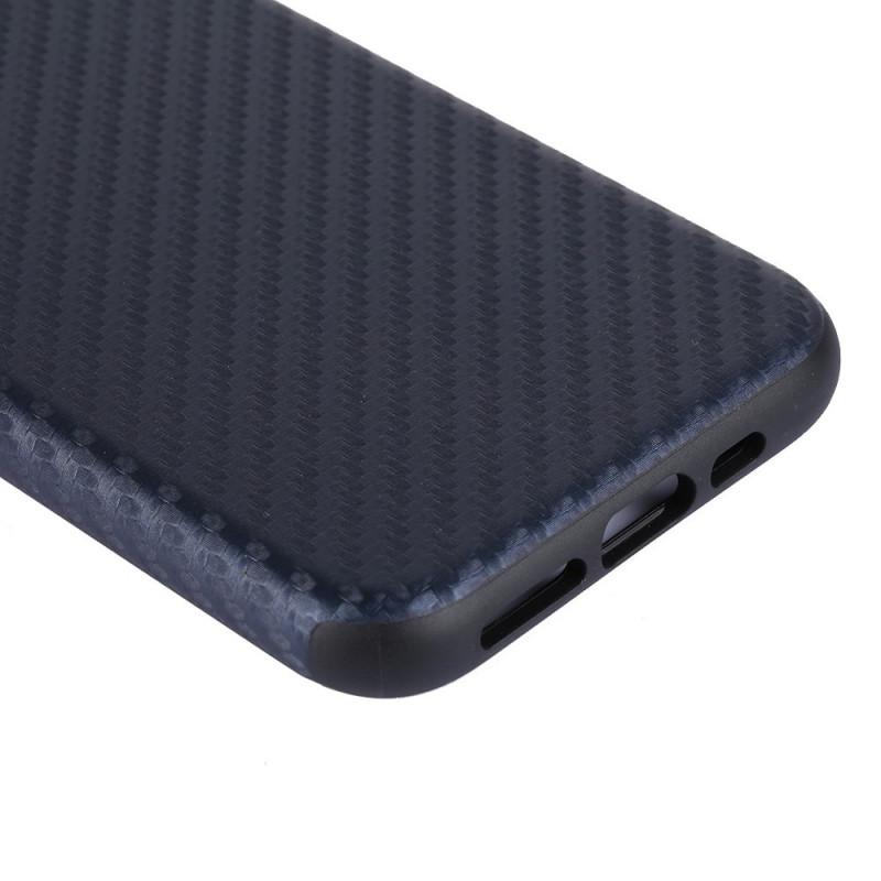 Coque iPhone 12 Pro Max Texture Fibre Carbone