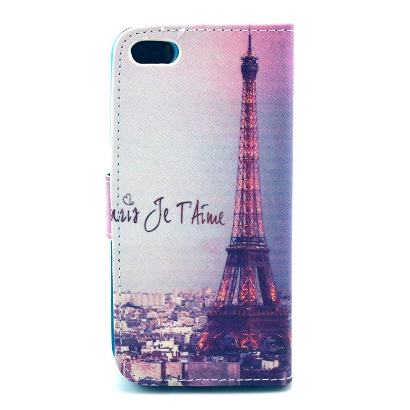 Housse iphone 5 5s paris je t 39 aime for Housse iphone 5s