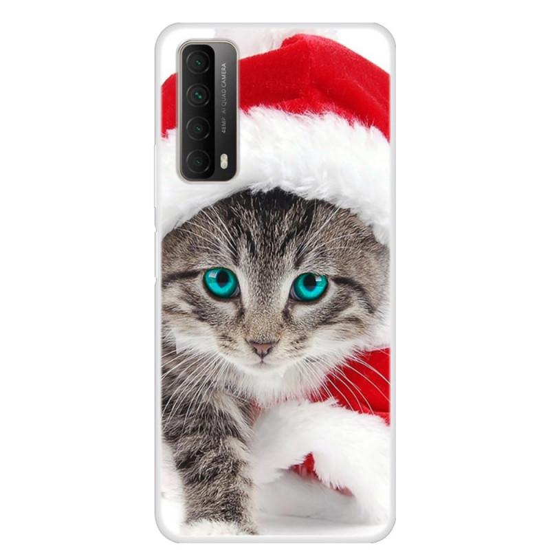Coque Huawei P Smart 2021 Chat de Noël