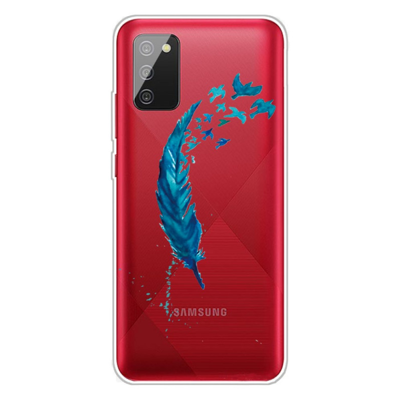 Coque Samsung Galaxy A02s Belle Plume