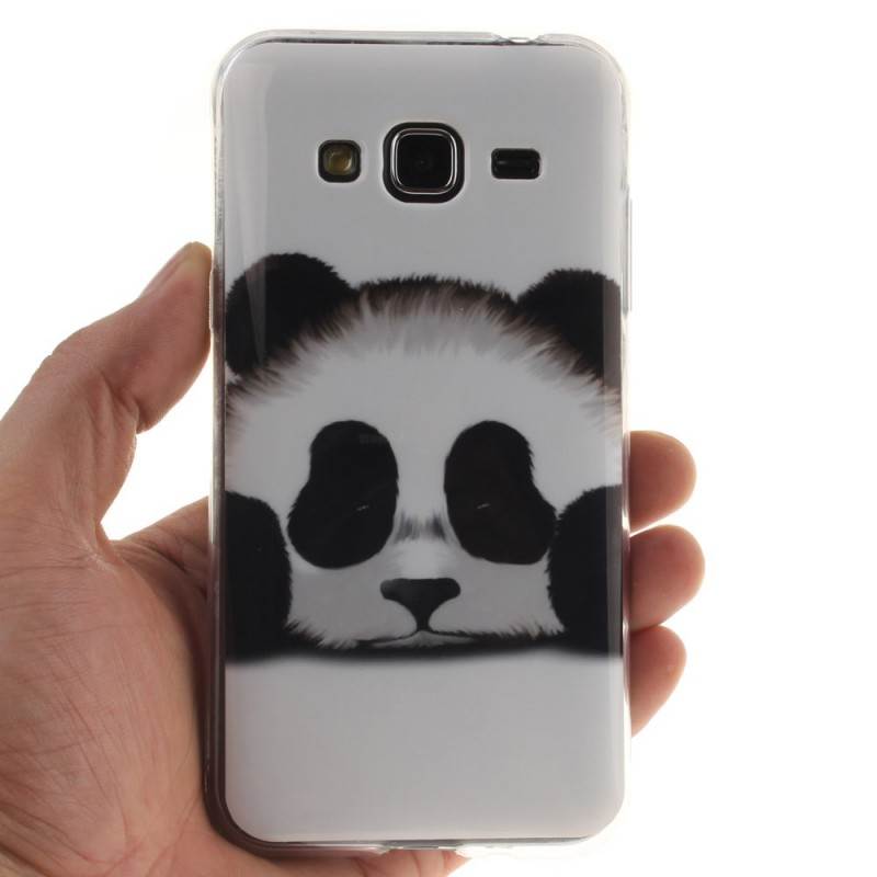 coque samsung galaxy j3 2016 panda. Black Bedroom Furniture Sets. Home Design Ideas