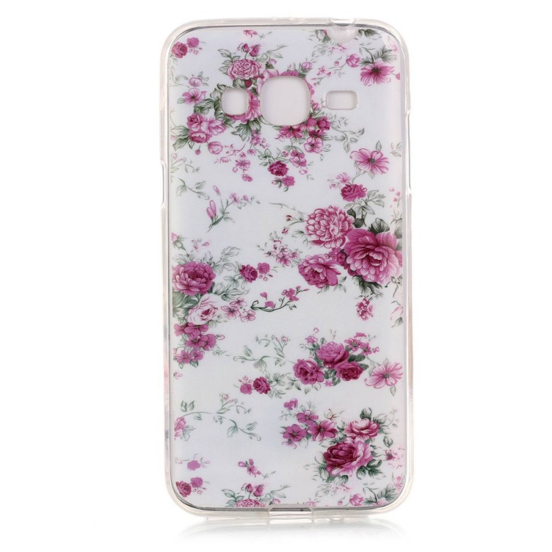 coque samsung galaxy j3 2016 fleurs liberty. Black Bedroom Furniture Sets. Home Design Ideas