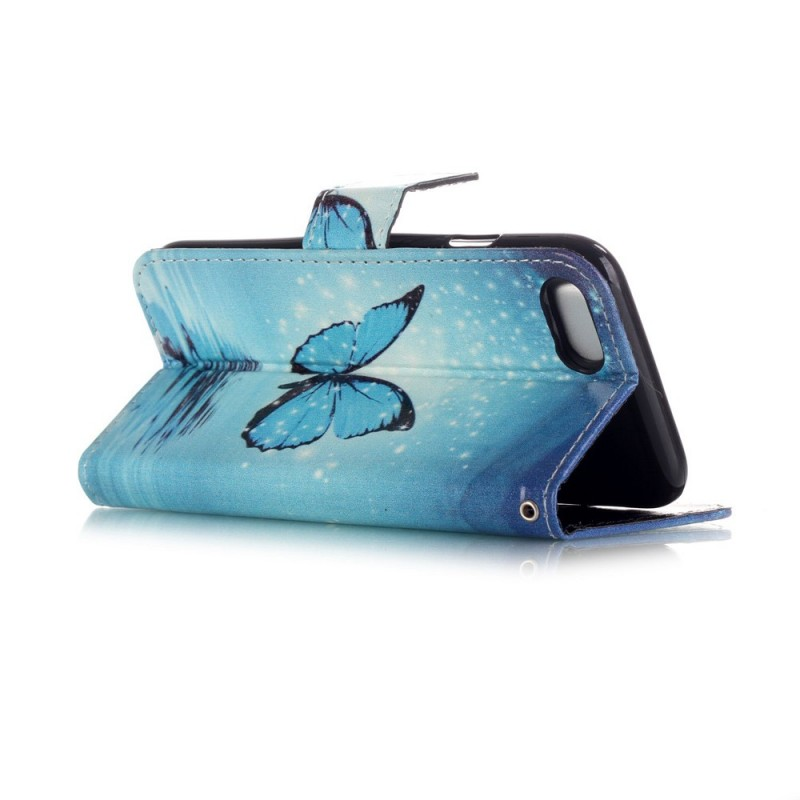 Housse iphone 7 papillon volant for Housse volant voiture