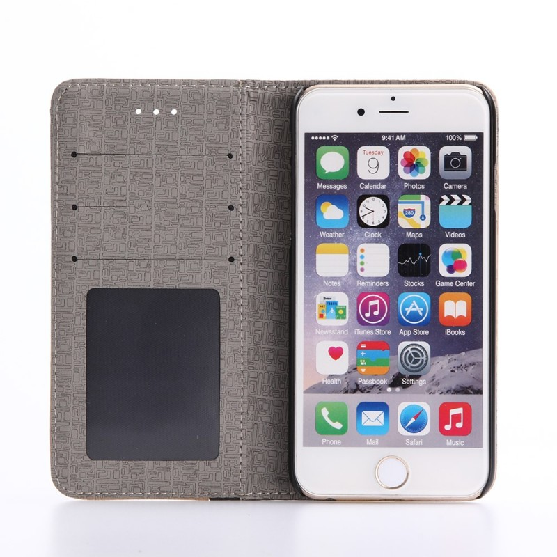 Housse iphone 7 effet bois bicolore for Housse iphone 7