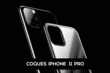 Nos coques iPhone 11 Pro