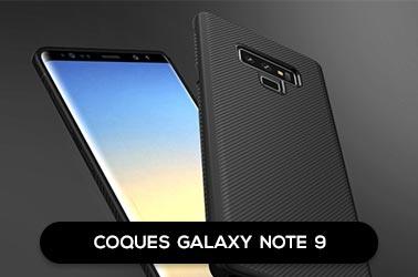 Nos coques Samsung Galaxy Note 9